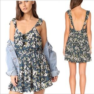 NWT Free People Boho Floral Dress
